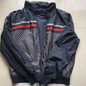 Vintage alternate Gucci Print windbreaker jacket
